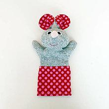 Hračky - Maňuška myška - 12358993_