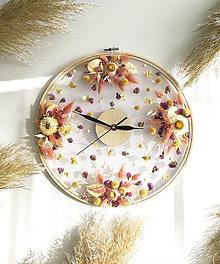 Hodiny - Kvetinové hodiny - 12361975_