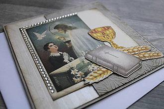 Papiernictvo - ...pohľadnica k 1. sv. prijímaniu... - 12358938_