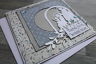 """Papiernictvo - ...pohľadnica vianočná """"Svätá rodina""""... - 12358941_"""