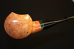 Iné - Štýlová fajka z briárového dreva - 12358840_