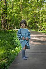 Detské oblečenie - Šaty IDA zelené - 12365166_