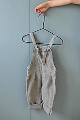 Detské oblečenie - Nohavice FELIX pásikové - 12365227_