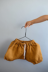 Detské oblečenie - Háremky TEO škoricové - 12365310_