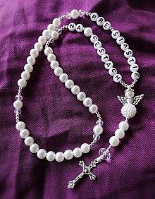 Iné šperky - Ruženec Pre šťastie na cestách - 12364735_