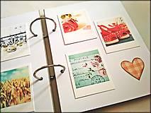 Papiernictvo - Fotoalbum svadobný * svadobný album * kniha hostí A5 - 12364131_