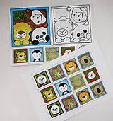 Hračky - Pexeso papierové (Zvieratká z exotiky) - 12363067_