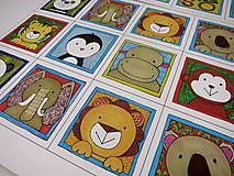 Hračky - Pexeso papierové (Zvieratká z exotiky) - 12363069_