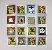 Hračky - Pexeso papierové (Zvieratká z exotiky) - 12363071_