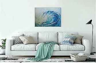 Obrazy - Morská vlna-objednávka - 12366144_