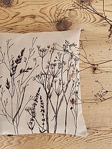Úžitkový textil - Vankúš trávy - 12364559_