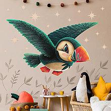 Obrázky - Samolepka na stenu Pufin - 12365690_