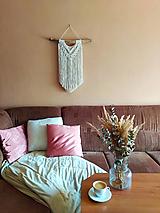 Dekorácie - Macramé dekorácia LINDA - 12365129_