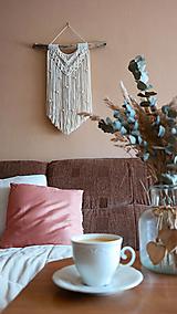 Dekorácie - Macramé dekorácia LINDA - 12365131_