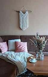Dekorácie - Macramé dekorácia LINDA - 12365136_
