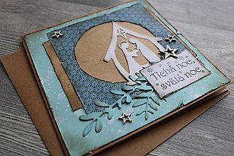"""Papiernictvo - ...pohľadnica vianočná """"Svätá rodina""""... - 12363025_"""