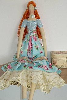 Bábiky - Textilná dekoračná bábika - 12367961_