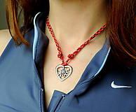 Náhrdelníky - Plesnivec v srdci - prívesok - 12368998_