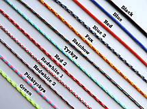 Náramky - Plesnivec v srdci - náramok (Rainbow) - 12369142_
