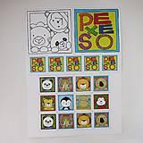 Hračky - Pexeso papierové (Veľká troj sada - dvor, les, exotika) - 12367079_