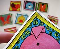Hračky - Textilné pexeso  (Veľká komplet troj sada) - 12367176_