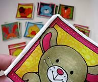Hračky - Textilné pexeso  (Veľká komplet troj sada) - 12367177_
