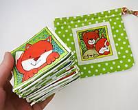 Hračky - Textilné pexeso  (Zvieratká na výber po páre kartičiek) - 12367239_