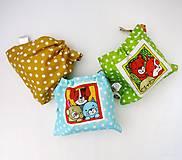 Hračky - Textilné pexeso  (Zvieratká na výber po páre kartičiek) - 12367242_