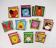 Hračky - Textilné pexeso  (Zvieratká na výber po páre kartičiek) - 12367248_