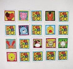 Hračky - Pexeso papierové (Veľká troj sada - dvor, les, exotika) - 12367073_