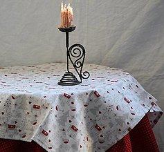 Úžitkový textil - Obrus. Štóla zimný vzor - 12369486_