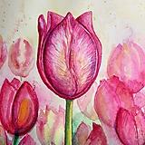 Obrazy - Tulipány (Originál) - 12368129_