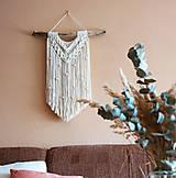 Dekorácie - Macramé dekorácia LINDA - 12368275_