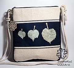 Kabelky - Mini kabelka modrotlač TILIA 2 - 12370477_