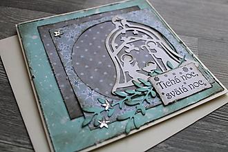 """Papiernictvo - ...pohľadnica vianočná """"Svätá rodina""""... - 12370932_"""