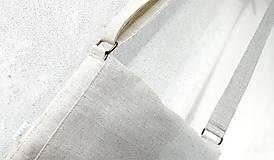 Kabelky - Vyšívaná taška Lístky - 12372910_