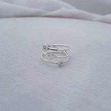 Prstene - minimalistický prsteň - srdiečko (personalizovaný na želanie) - 12373050_