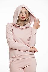 Mikiny - Růžová mikina (S) - 12375007_
