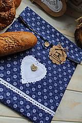 Úžitkový textil - Vrecúško na desiatu-folklórne - 12377790_