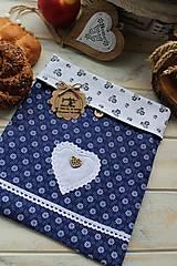 Úžitkový textil - Vrecúško na desiatu-folklórne - 12377798_