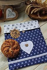 Úžitkový textil - Vrecúško na desiatu-folklórne - 12377803_