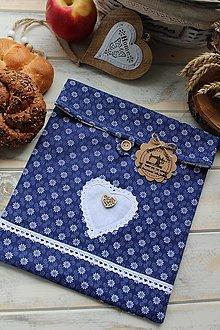 Úžitkový textil - Vrecúško na desiatu-folklórne - 12377789_