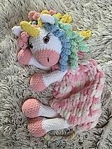 Hračky - pyžamkožrútik - jednorožec CANDY - 12375715_