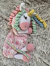 Hračky - pyžamkožrútik - jednorožec CANDY - 12375717_