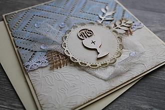 Papiernictvo - ...pohľadnica k 1. sv. prijímaniu... - 12374926_