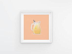 Grafika - Limo print, minimalistický plagát - 12377496_
