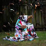 Úžitkový textil - Origo dekoško samé kvety - limit - 12377534_