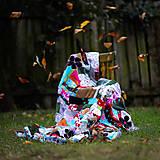 Úžitkový textil - Origo dekoško samé kvety - limit - 12377535_
