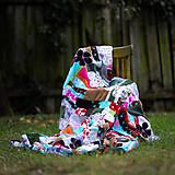 Úžitkový textil - Origo dekoško samé kvety - limit - 12377536_