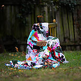 Úžitkový textil - Origo dekoško samé kvety - limit - 12377537_